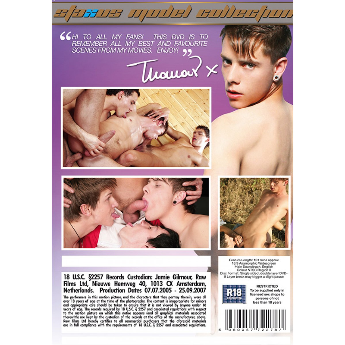 Carey Lexes Porn Filmography staxus model collection 06: thomas dyk dvd - no cover art available