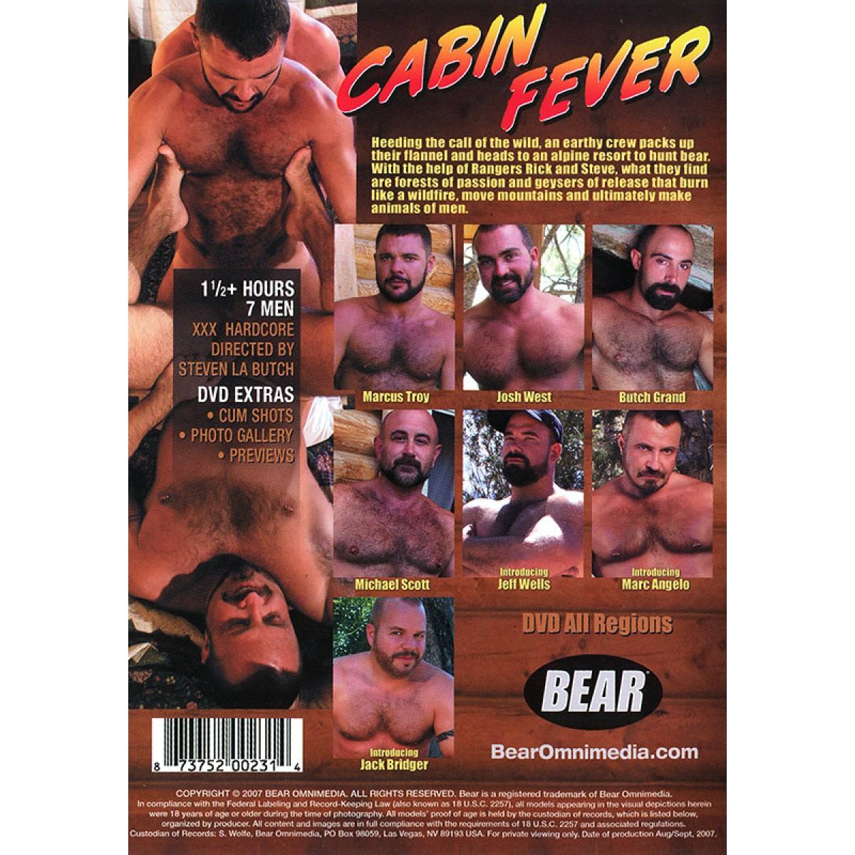 Cabin Fever Porn Gay cabin fever dvd