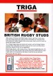 British Rugby Studs DVD - Back