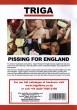 Pissing for England DVD - Back