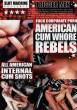 American Cum Whore Rebels DVD - Front