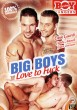 Big Boys Love To Fuck DVD - Front