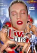 Live Boys DVD - Front