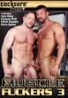 Muscle Fuckers 3 DVD - Front