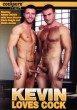 Kevin Loves Cock DVD - Front