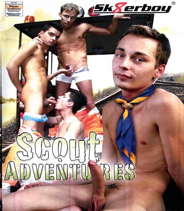 Scout Adventures BLU-RAY - Front