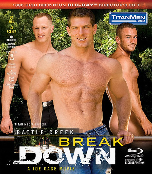 Battle Creek Breakdown BLU-RAY - Front