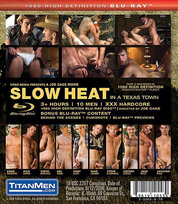 Slow Heat BLU-RAY - Back