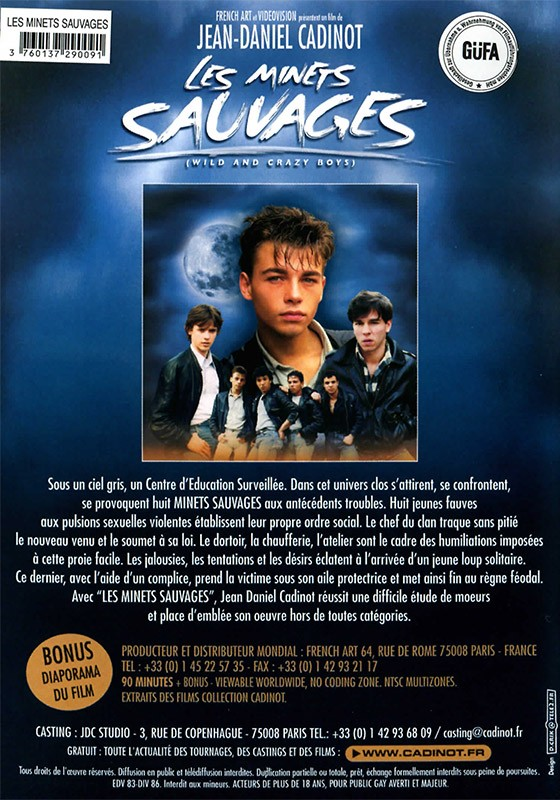 Les Minets Sauvages DVD - Back
