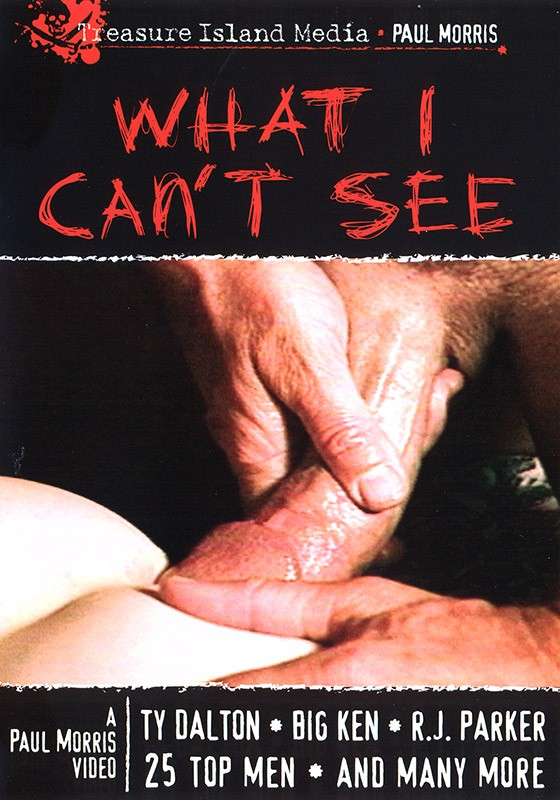 What I Can't See DVD - Front