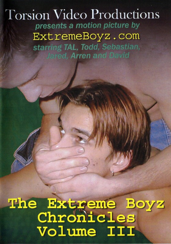 The Extreme Boyz Chronicles Vol. 3 DVD - Front