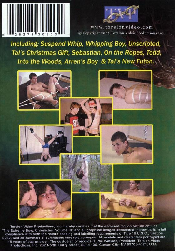 The Extreme Boyz Chronicles Vol. 3 DVD - Back