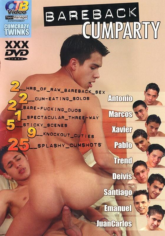 Bareback Cumparty DVD - Front