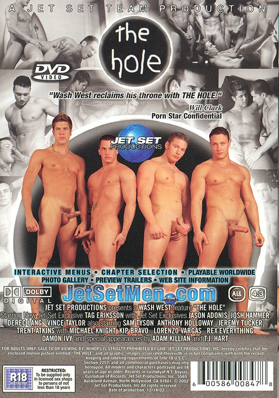 The Hole DVD - Back