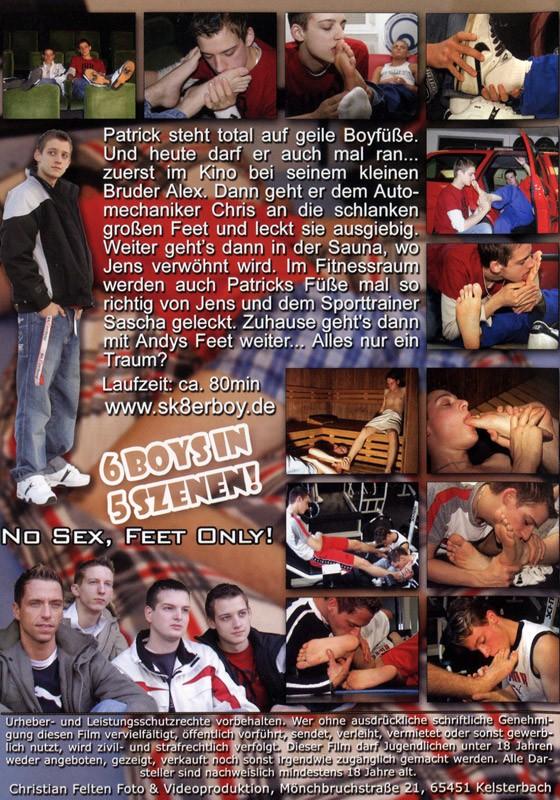 A Boy's Feetdreams DVD - Back