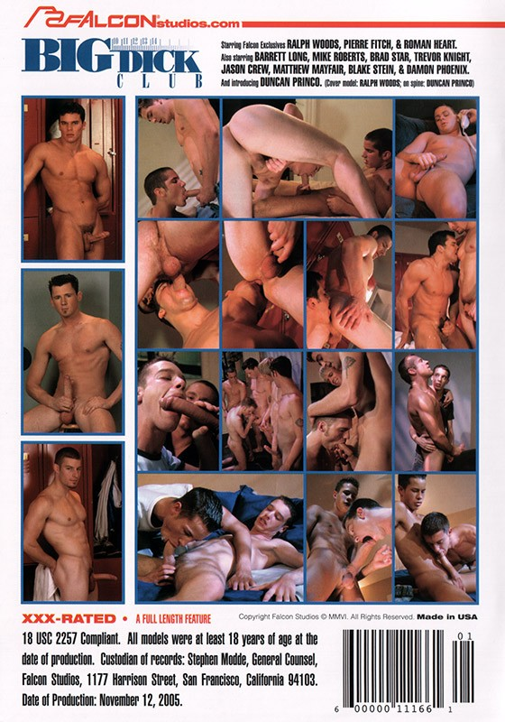 Big Dick Club DVD - Back