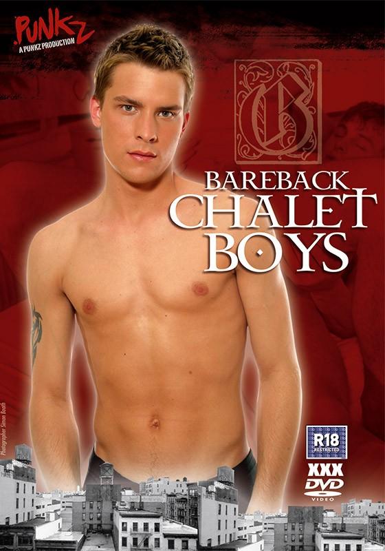 Bareback Chalet Boys DVD - Front