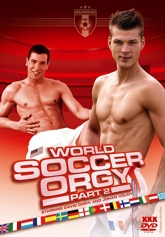 World Soccer Orgy part 2 DVD - Front
