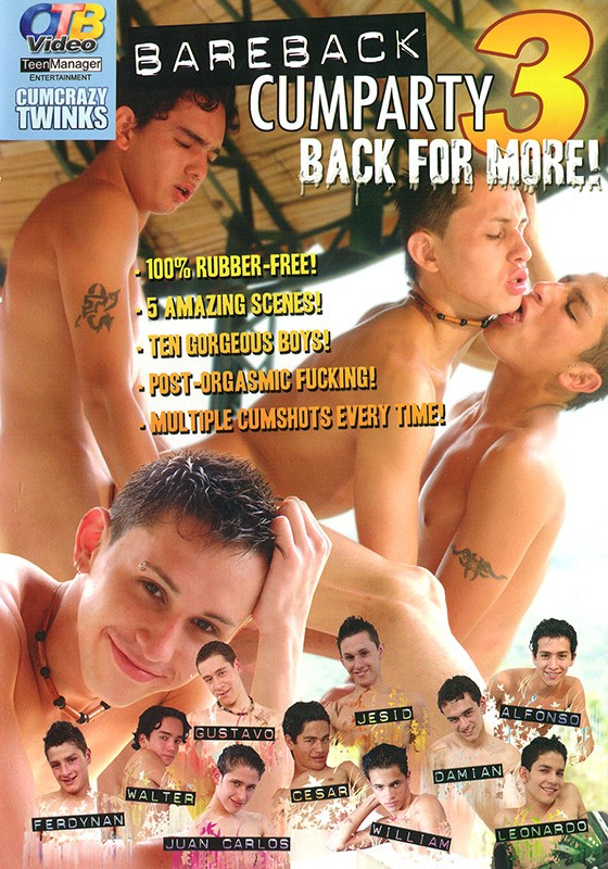 Bareback Cumparty 3 DVD - no cover art available - Front