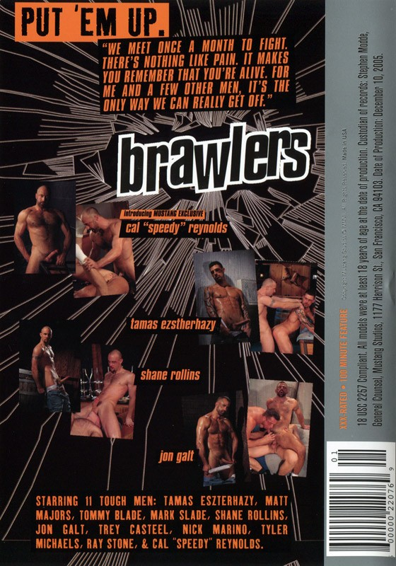 Brawlers DVD - Back