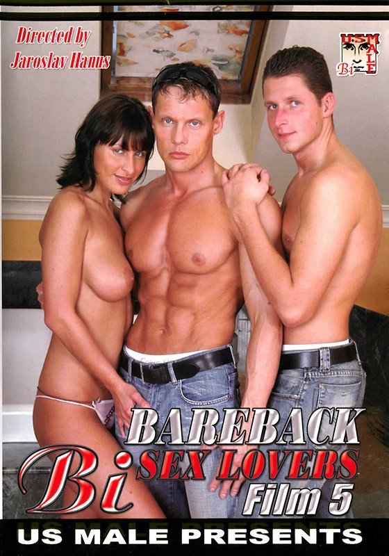 Bareback Bi Sex Lovers 5 DVD - Front