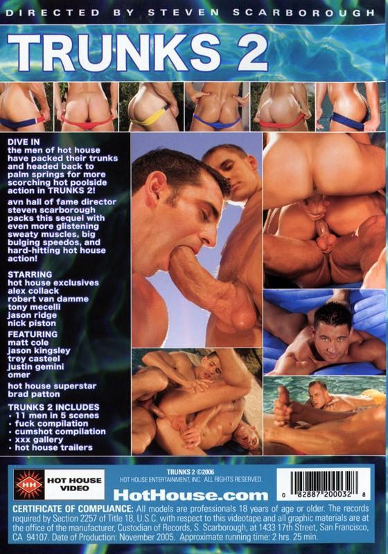 Trunks 2 DVD - Back