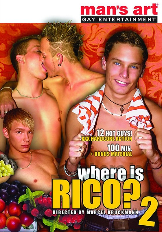 Where is Rico? 2 DVD - Front