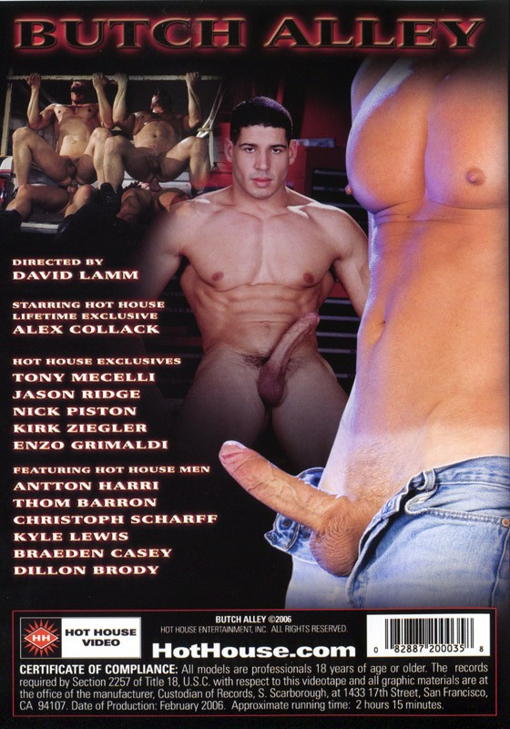 Butch Alley DVD - Back
