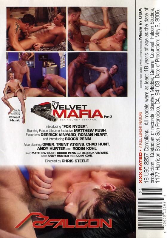 The Velvet Mafia Part 2 DVD - Back