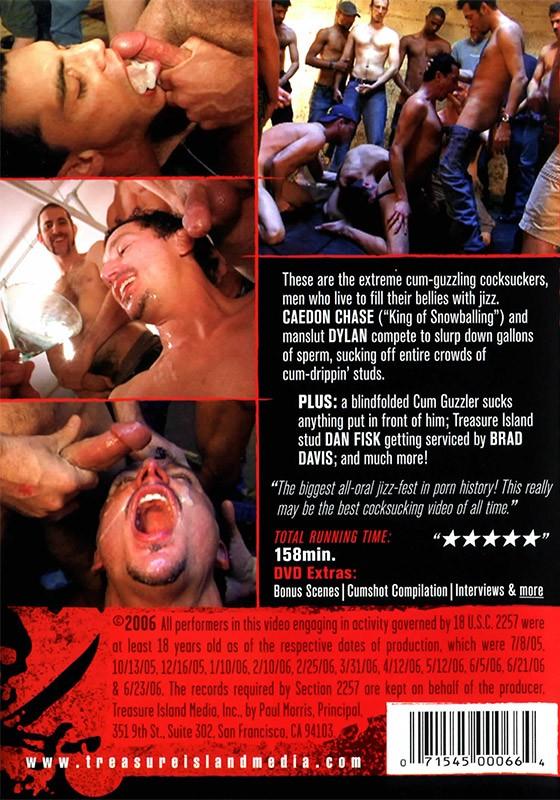 Drunk on Cum 3 DVD - Back