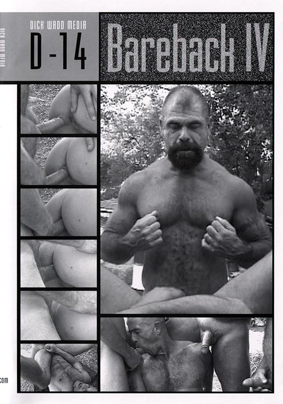 Bareback IV: Huge Poles, Hungry Holes DVD - Front