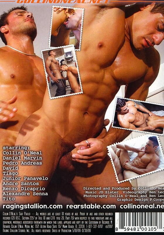 Collin O'Neal's Sao Paulo DVD - Back