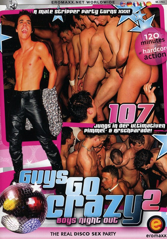 Guys Go Crazy 2: Boys Night Out DVD - Front