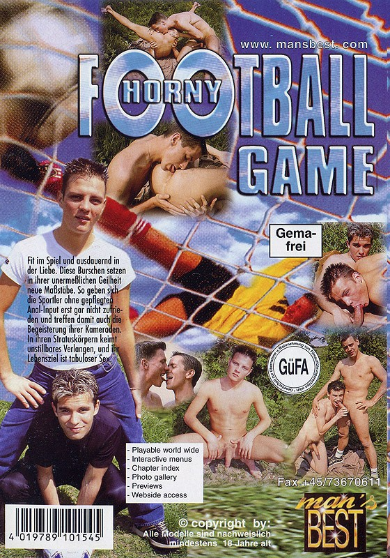 Horny Football Game DOWNLOAD - Back