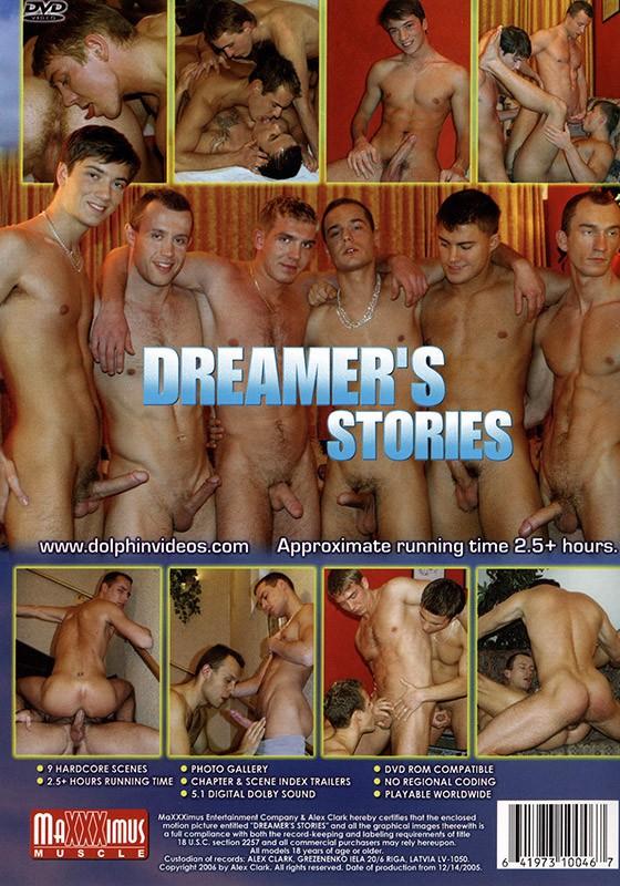 Dreamer's Stories DVD - Back