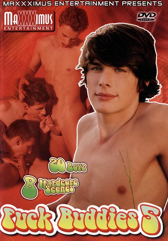 Fuck Buddies 5 DVD - Front