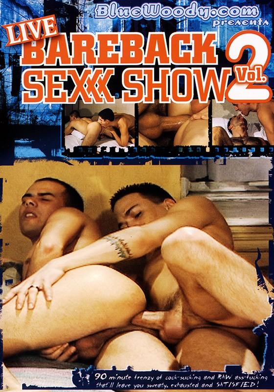 Live Bareback Sex Show volume 2 DVD - Front
