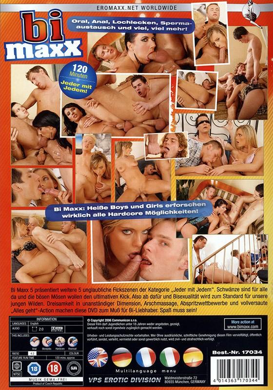 Bi Maxx Vol.5 DVD - Back