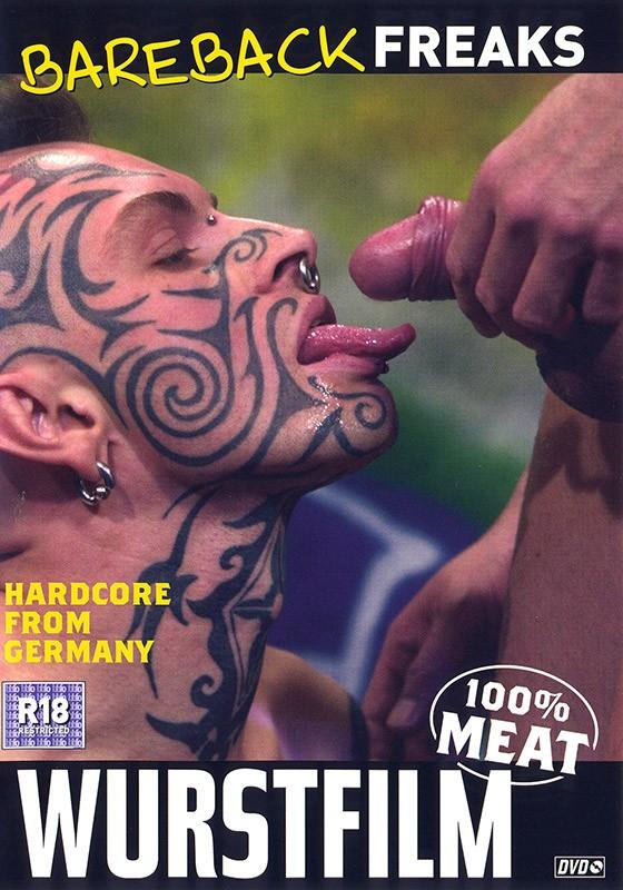 Bareback Freaks DVD - Front