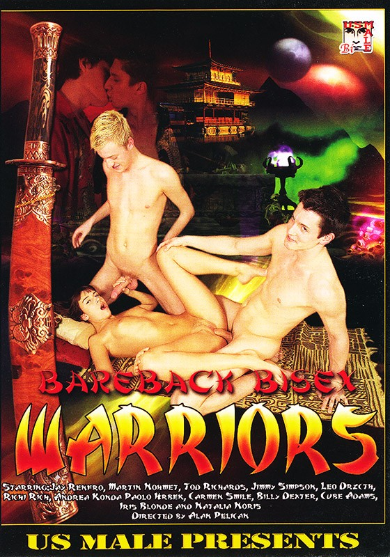 Bareback Bisex Warriors DVD - Front
