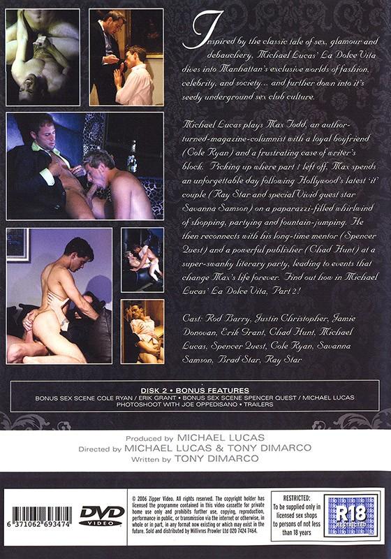 La Dolce Vita part II DVD - Back