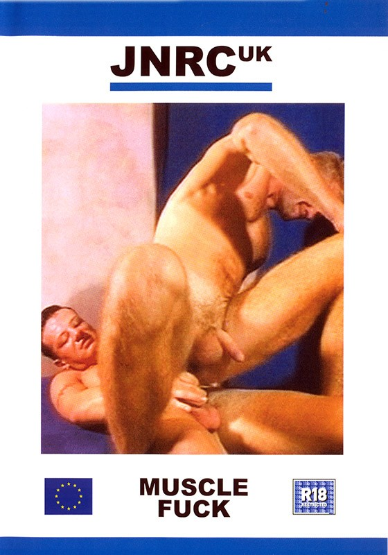 Muscle Fuck DVD - Front