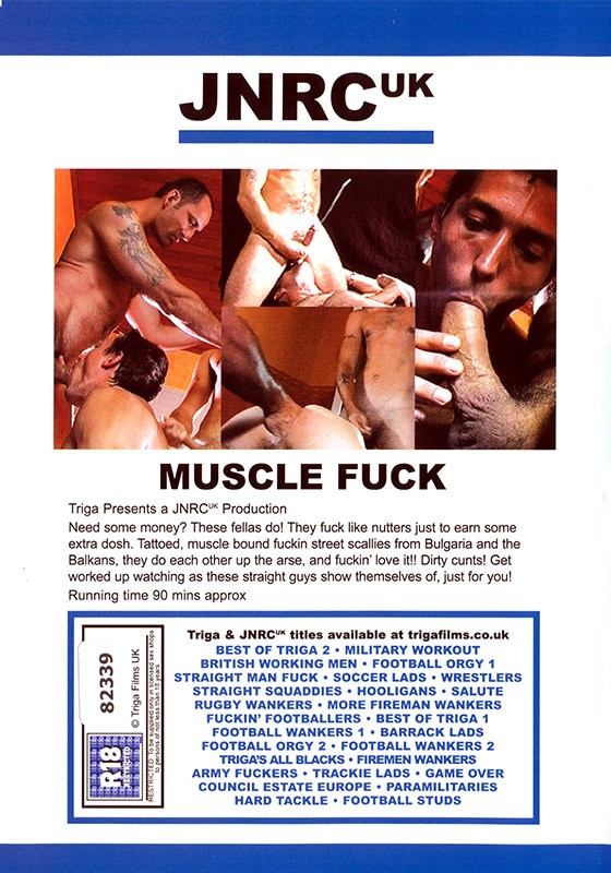 Muscle Fuck DVD - Back