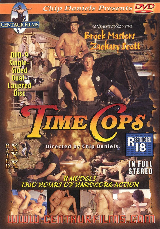 Time Cops DVD - Front