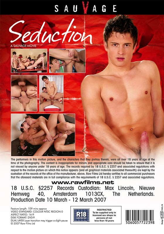 Seduction DVD - Back