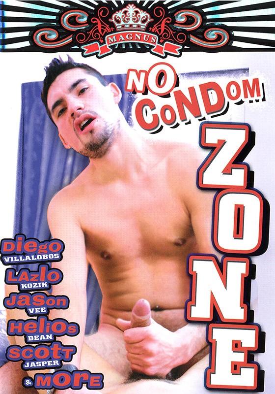 No Condom Zone DVD - Front