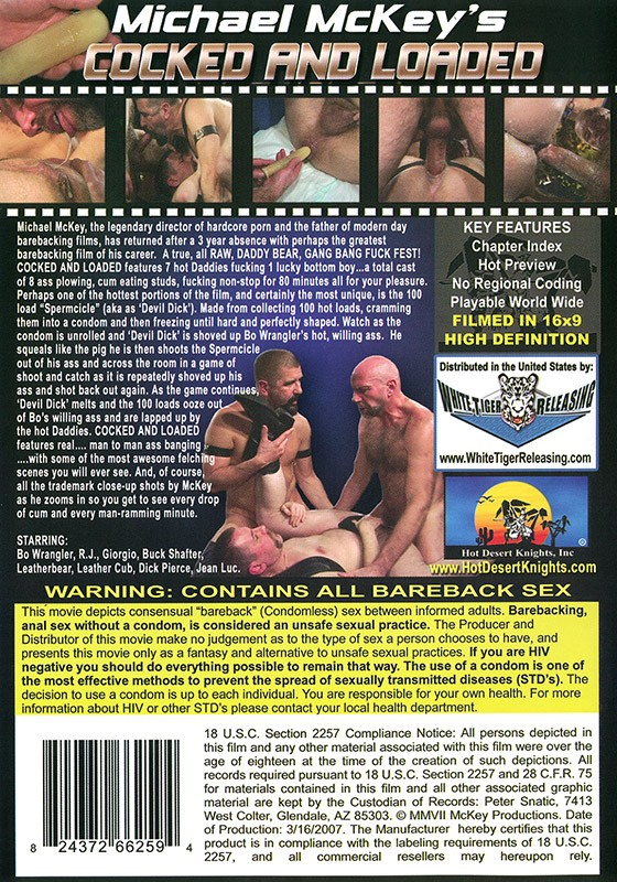 Cocked & Loaded DVD - Back