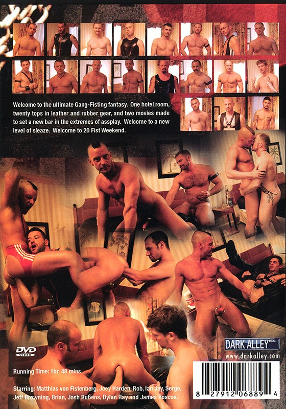20 Fist Weekend part 1 DVD - Back