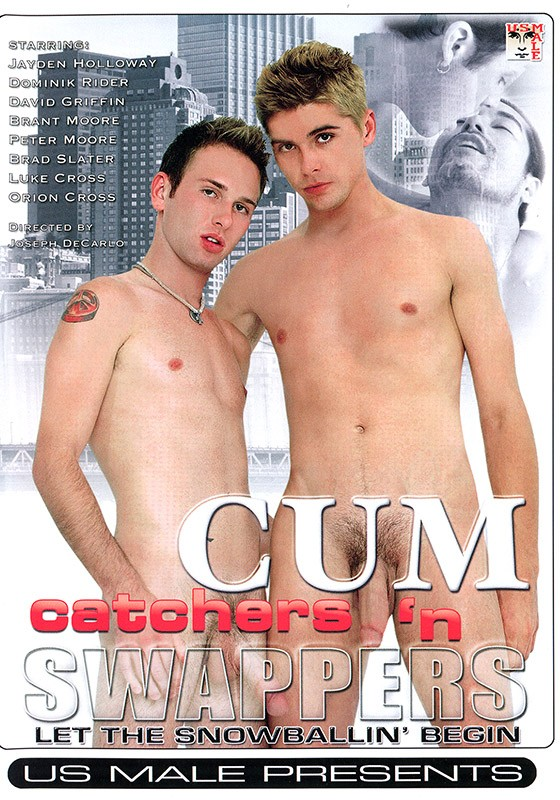 Cum Catchers 'n Swappers DVD - Front