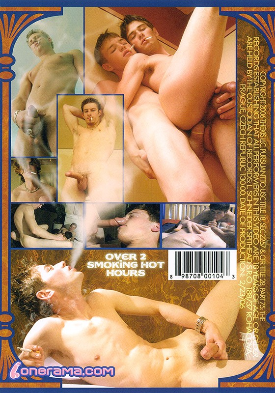 Cock Smokers DVD - Back